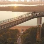 Пешеходный мост от Владимирской горки построят к концу весны