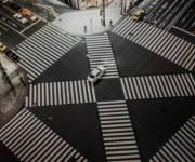 Украина хочет внедрить диагональную зебру на перекрестках