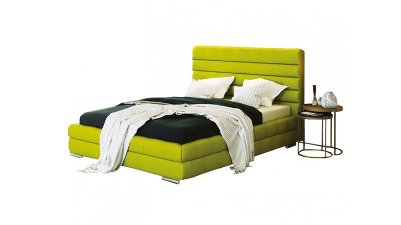 Утонченная и прочная металлическая кровать