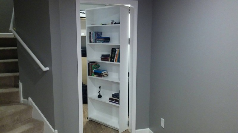 Зачем в комнате устанавливать скрытые двери?