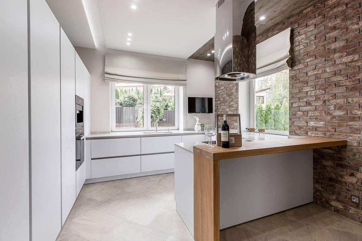 Дизайн кухни с открытой планировкой