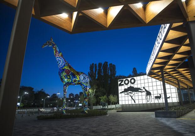 Киевский зоопарк открыли после реконструкции
