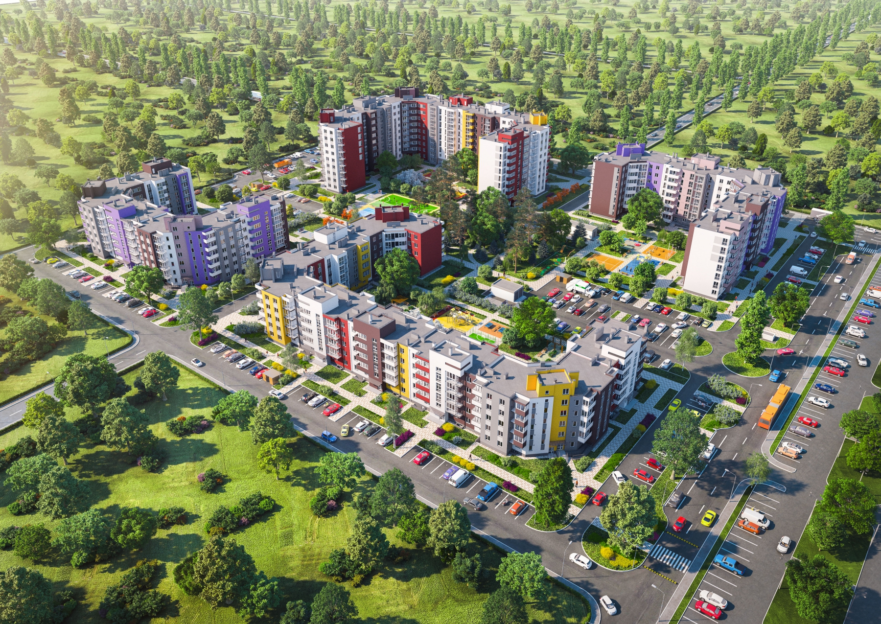 Как выбрать квартиру в пригороде Киева?